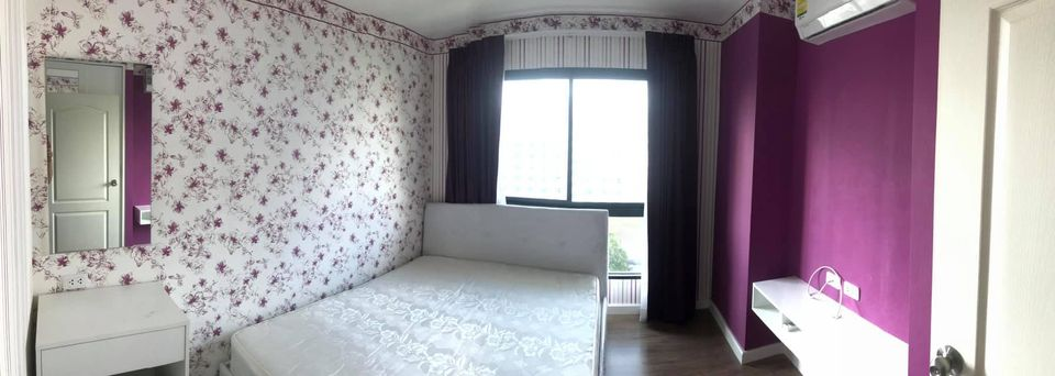 For RentCondoBang kae, Phetkasem : Condo for rent, Icon Condo Petchkasem 39🏦, fully furnished interior, beautiful wallpaper