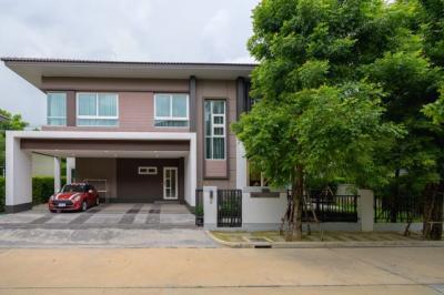 For RentHouseSamrong, Samut Prakan : House for sale/rent. Laddarom Bangna village Near MEGA&IKEA