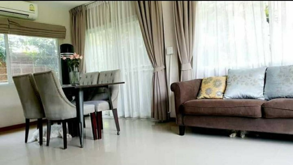 For RentHouseBangbuathong, Sainoi : House for rent, fully furnished, ready to move in. Casa Presto Ratchapruek project
