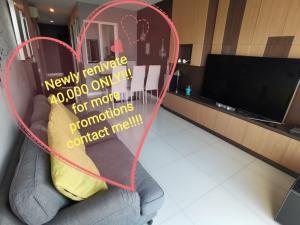 เช่าคอนโดอ่อนนุช อุดมสุข : Hot deal 40,000 only!!! NEWLY RENOVATED! For more promotions contact me!!!