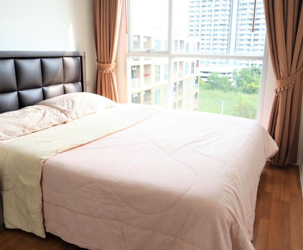 For SaleCondoBangna, Lasalle, Bearing : Condo for sale Lumpini Place Bangna KM 3, size 26 sqm., 8th floor, complete with furniture and electrical appliances Ready to sell immediately. Phatra 096.8969997
