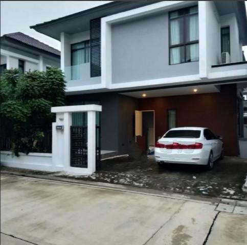 For RentHouseRamkhamhaeng Nida, Seri Thai : RH436 House for rent with furniture, Soi Ramkhamhaeng 94. Near the Paseo