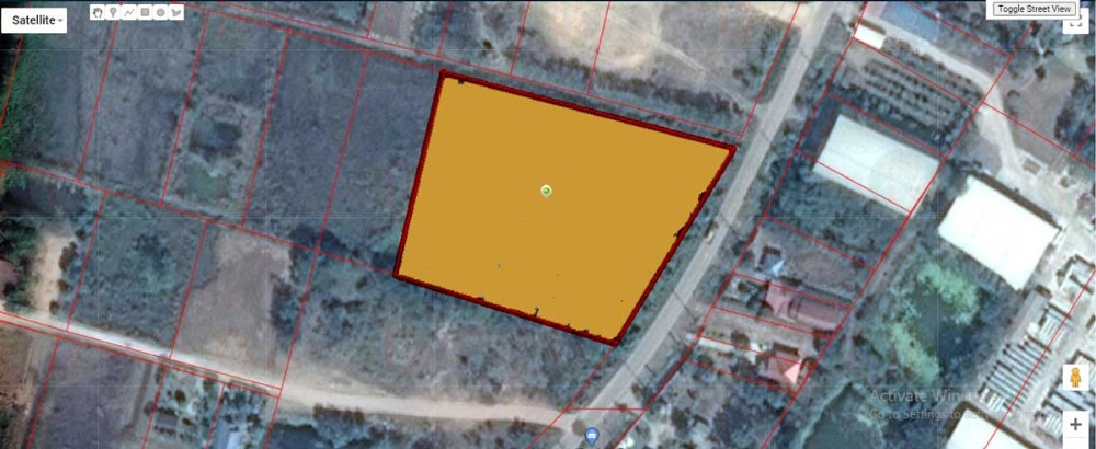 For SaleLandPhichit : Land for sale on the Bypass road, Phichit, Bang Mun Nak.