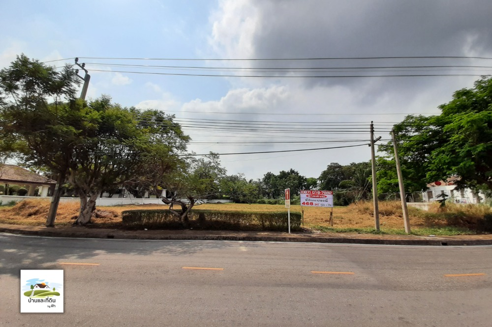 For SaleLandBangna, Lasalle, Bearing : Land for sale 468 sq m. Green Valley Village Soi 2 behind the golf course, Bangna-Trad Rd., Km. 15