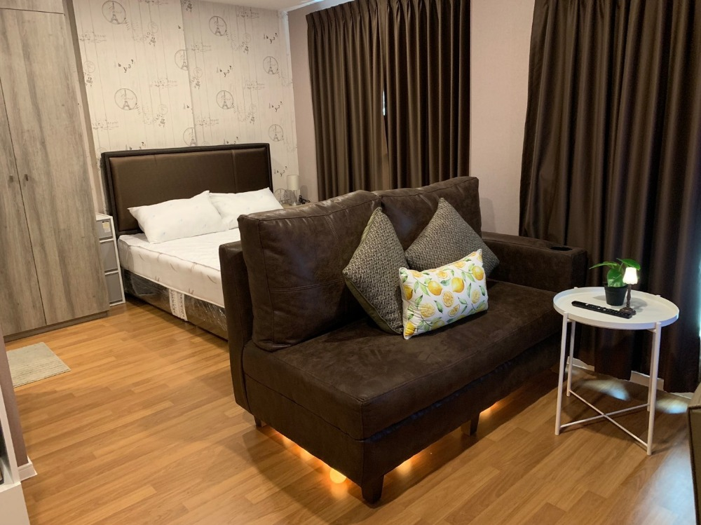 For SaleCondoBangna, Lasalle, Bearing : Condo for sale Lumpini Place Bangna Km.3 fully furnished.