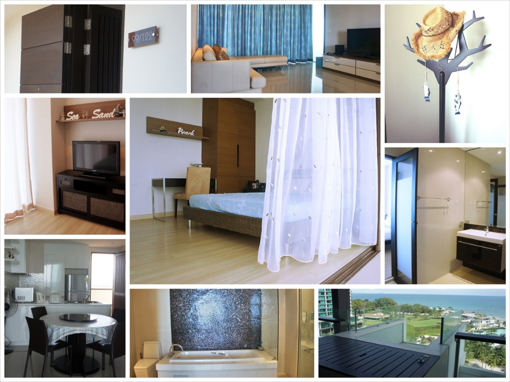 For SaleCondoRayong : Condo for sale in Phuphatara, Mae Phim Beach, Rayong Province