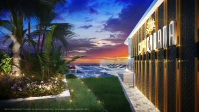 Sale DownCondoPattaya, Bangsaen, Chonburi : Hot sale COPACABANA BEACH JOMTIEN 35sqm beach front condo direct Sea view.