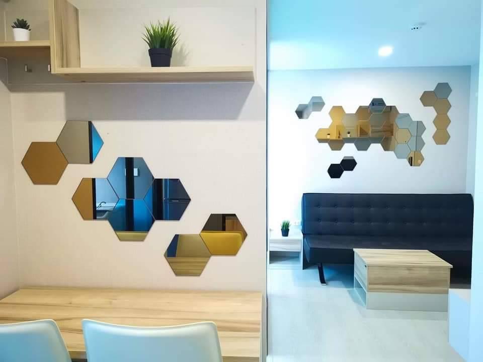 เช่าคอนโดมีนบุรี-ร่มเกล้า : *มี VDO ให้ดู / วิวดี วิวโปร่ง ของครบ มี ค.ซักผ้า ให้เช่า The cube plus Minburi ห้องสวยมาก