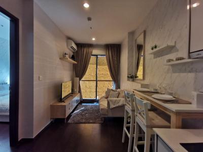For RentCondoSukhumvit, Asoke, Thonglor : For rent, C Ekkamai (C Ekkamai), pool floor, very beautiful, fully furnished!