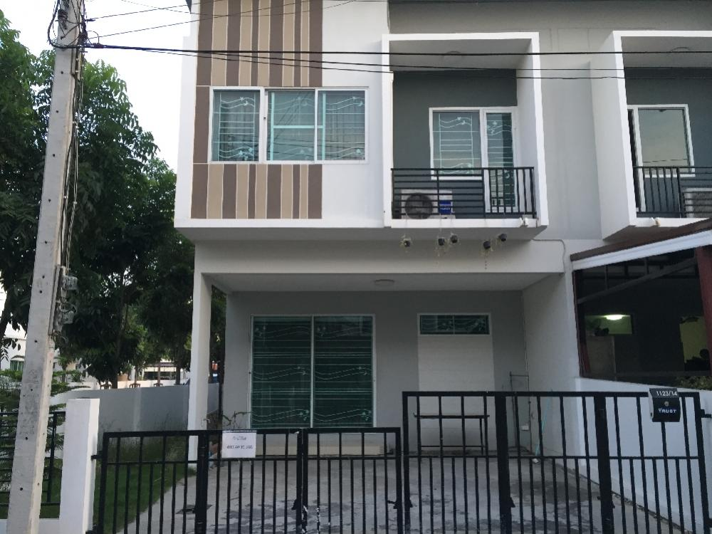 For SaleHouseSamrong, Samut Prakan : Town home for sale, filling like a house, only 30 minutes from Suwannaphum Air port