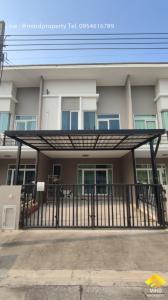 For SaleTownhouseRama5, Ratchapruek, Bangkruai : Urgent sale, 2-storey townhome, Gusto Village, Ring Road - Rama 5, Nonthaburi, Bang Bua Thong