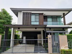 For SaleHouseYothinpattana,CDC : A quality society that is ready for today and the future. The central area of the lake is 50 rai, next to the tunnel, large trees, big houses, beautiful plots, Manthana Lake Watcharaphon