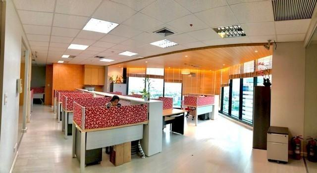 For RentOfficeBangna, Lasalle, Bearing : Office for rent, Central City Tower, furnished, ready to move in Area 186.73 Sqm next to Central Bangna, Central City Tower (same complex as Central Bangna)