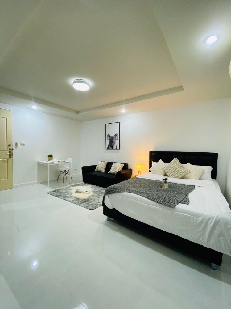 For SaleCondoRatchadapisek, Huaikwang, Suttisan : Beautiful room for sale, fully furnished, Happy Condo Ratchada 18, 6th Floor, Building C Sale 1.49 MB (S1548)