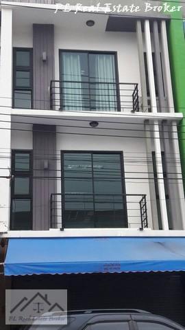 เช่าตึกแถว อาคารพาณิชย์นวมินทร์ รามอินทรา : ให้เช่าอาคารพาณิชย์3ชั้นย่านสายไหม ตลาดเอซีสายไหม เหมาะทำเป็นออฟฟิศหรือร้านค้า