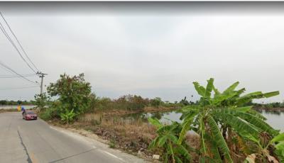 For SaleLandSamrong, Samut Prakan : ขายที่ดิน 3ไร่ ซอยวัดศรีวารีน้อย สมุทรปราการ รวมโอน ถูกสุดๆๆๆ