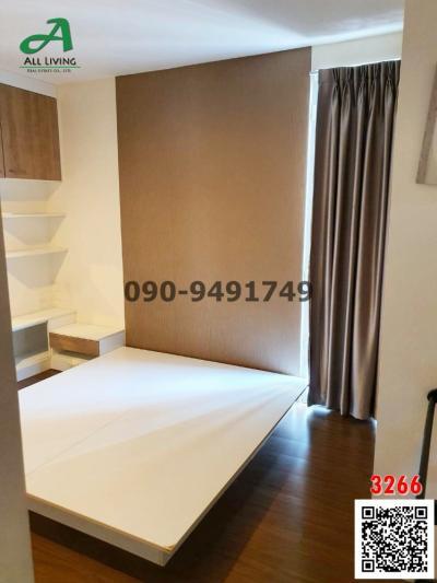 For RentCondoPattanakan, Srinakarin : Condo for rent The iris Condo Srinakarin, ready to move in.