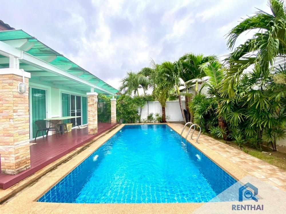 For SaleHouseChonburi, Pattaya, Bangsa : House for sale with swimming pool. Area of 100 sq m. ️ Beautiful property, very good price, sold with furniture and built-in.