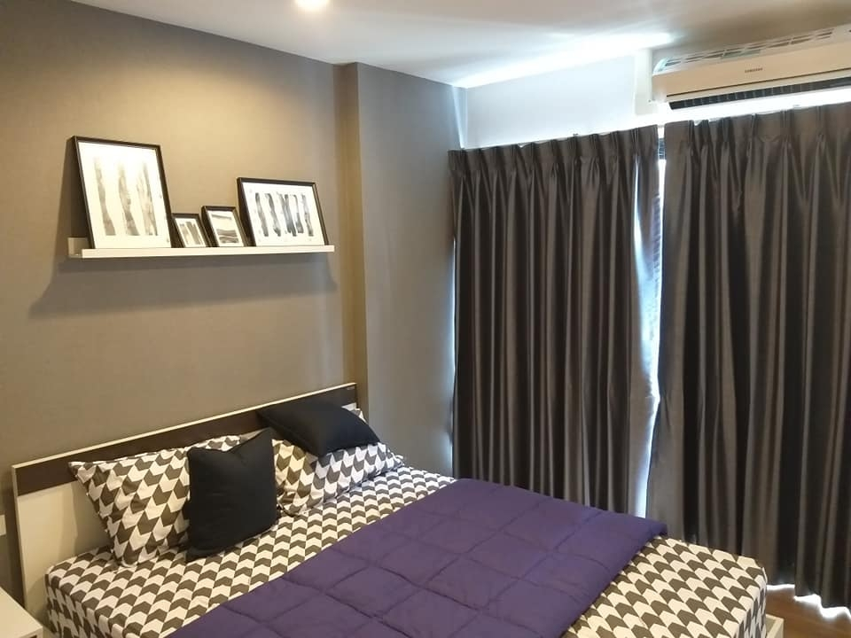 For RentCondoChengwatana, Muangthong : R7144 ** For rent ** Condo Hallmark Ngamwongwan, size 28, 7th floor, complete electrical appliances.
