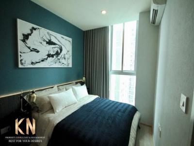 For RentCondoRatchadapisek, Huaikwang, Suttisan : Beautifully decorated room 💚 Noble Revolve Ratchada 1 💚 near Esplanade
