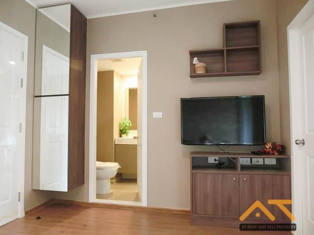 For RentCondoThaphra, Wutthakat : For rent U Delight @ Talat Phlu Station 1 bedroom, size 31 sq.m., near BRT Ratchapruek.