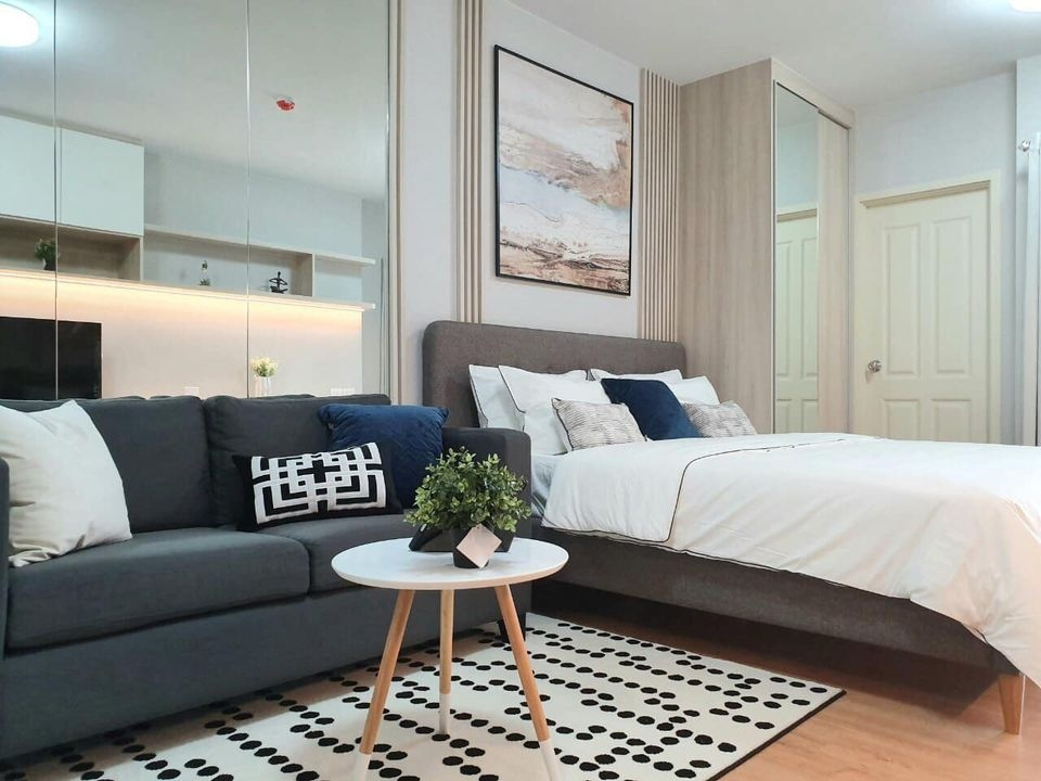 For RentCondoChengwatana, Muangthong : R7164 ** For rent ** Condo Supalai Vista @ Pak-Kred Intersection, size 34, 12 floors, pool view. All electrical appliances are ready.