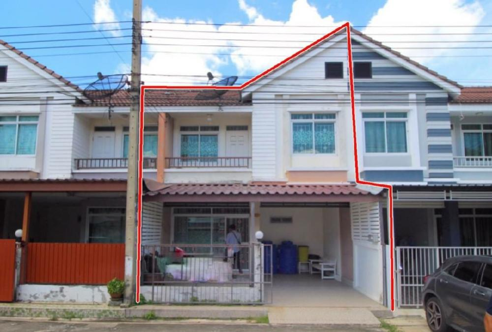 For SaleTownhouseRangsit, Patumtani : Townhouse for sale Thananan Village, Khlong Sam, Khlong Luang, Pathum Thani, Future Rangsit, Main Road 19.5 sq.w.