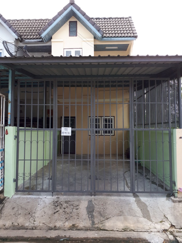 For SaleTownhouseDaokanong,Bang Bon : 2 storey townhouse for sale, corner room, Ketsarin Village, Ekachai 119, newly decorated, ready to move in
