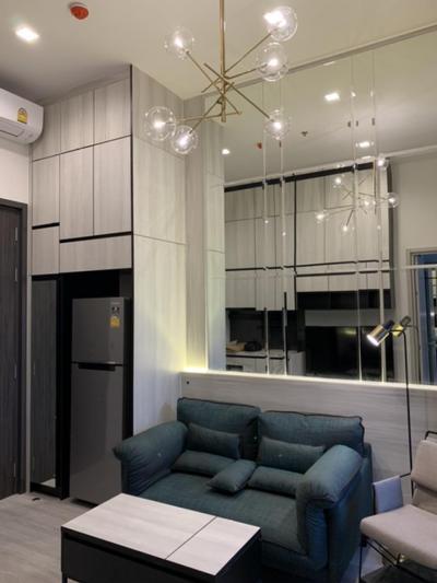 For RentCondoOnnut, Udomsuk : (Owner Post) 1 bed 27 sqm (288 sqft) 22th floor for rent Fully-furnish