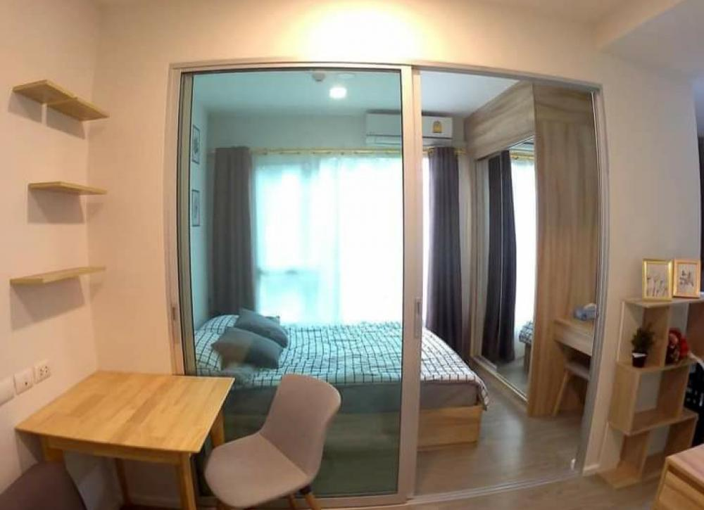 For RentCondoVipawadee, Don Mueang, Lak Si : Condo for rent, Happy Condo, Don Muang, The Terminal, there is a washing machine, Building A, size 25 sq m.