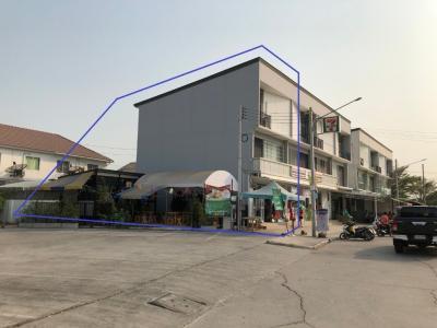 ขายตึกแถว อาคารพาณิชย์รังสิต ธรรมศาสตร์ ปทุม : ขายตึก พร้อมมีเซเว่นเช่าด้านล่าง และร้านค้าด้านข้าง ด้านบนอยู่อาศัยได้