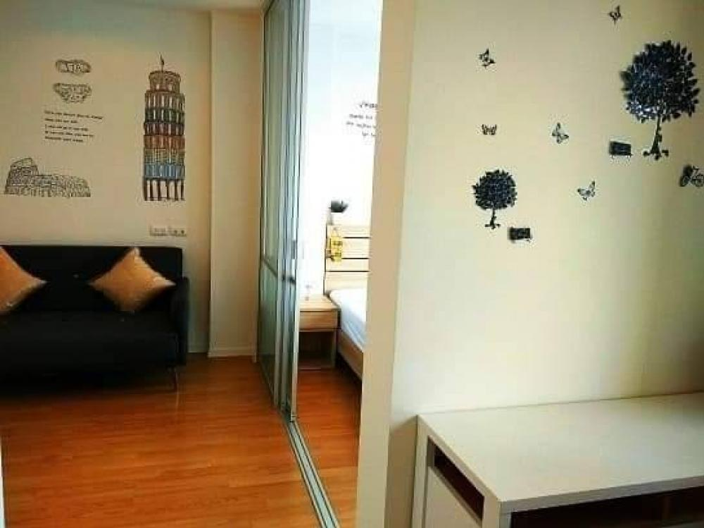 For RentCondoOnnut, Udomsuk : TG8-0116 Urgent rent, Lumpini Ville Onnut Condo 46, beautiful room, good location, fully furnished, near BTS On Nut, ready to move in !!