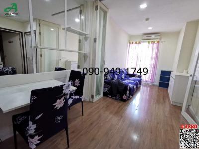 For RentCondoOnnut, Udomsuk : Condo for rent Icondo 103 Sukhumvit 103 near BTS Udomsuk (Soi Udom Suk 58) Building C, 8th floor, pool view.
