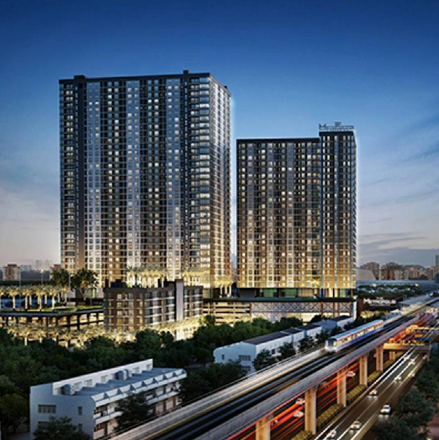 For SaleCondoSamrong, Samut Prakan : Condo for sale, The Metropolis, Sukhumvit Road, Samrong Nuea, ready to move in.