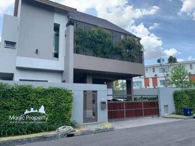 เช่าบ้านลาดพร้าว101 แฮปปี้แลนด์ : ให้เช่าบ้านเดี่ยว 3 ห้องนอน 4 ห้องน้ำ 82.5 ตร.วา โครงการไพรเวท เนอร์วานา เรสซิเดนซ์ (Private Nirvana Residence) พร้อมเฟอร์นิเจอร์