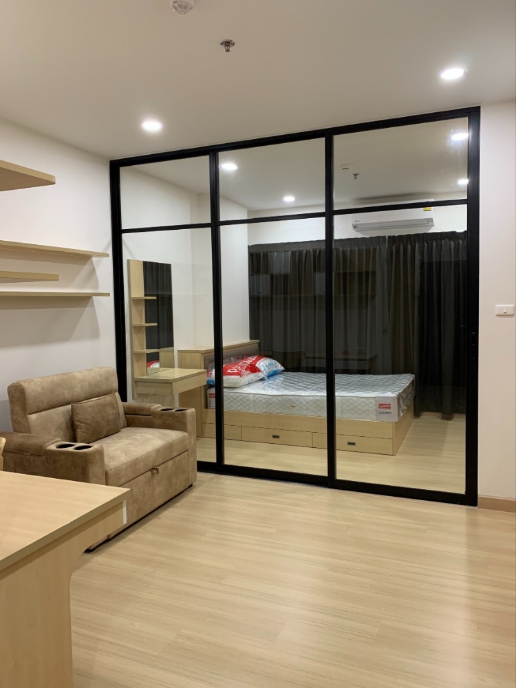 For RentCondoPinklao, Charansanitwong : For rent: Supalai Loft, Torch intersection, 1 bedroom 35 sqm., Wide balcony, beautiful room, fully furnished, ready to move in 11,000