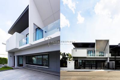 เช่าทาวน์เฮ้าส์/ทาวน์โฮมบางนา แบริ่ง : ให้เช่า For Rent VIVE Bangna ✦3beds 4baths✦ 225sqm with modern decoration ทาวน์โฮมให้เช่า (วีเว่ บางนา) near Mega Bangna, Central Plaza Bangna department store, Concordian International School   Bangna House - Townhouse