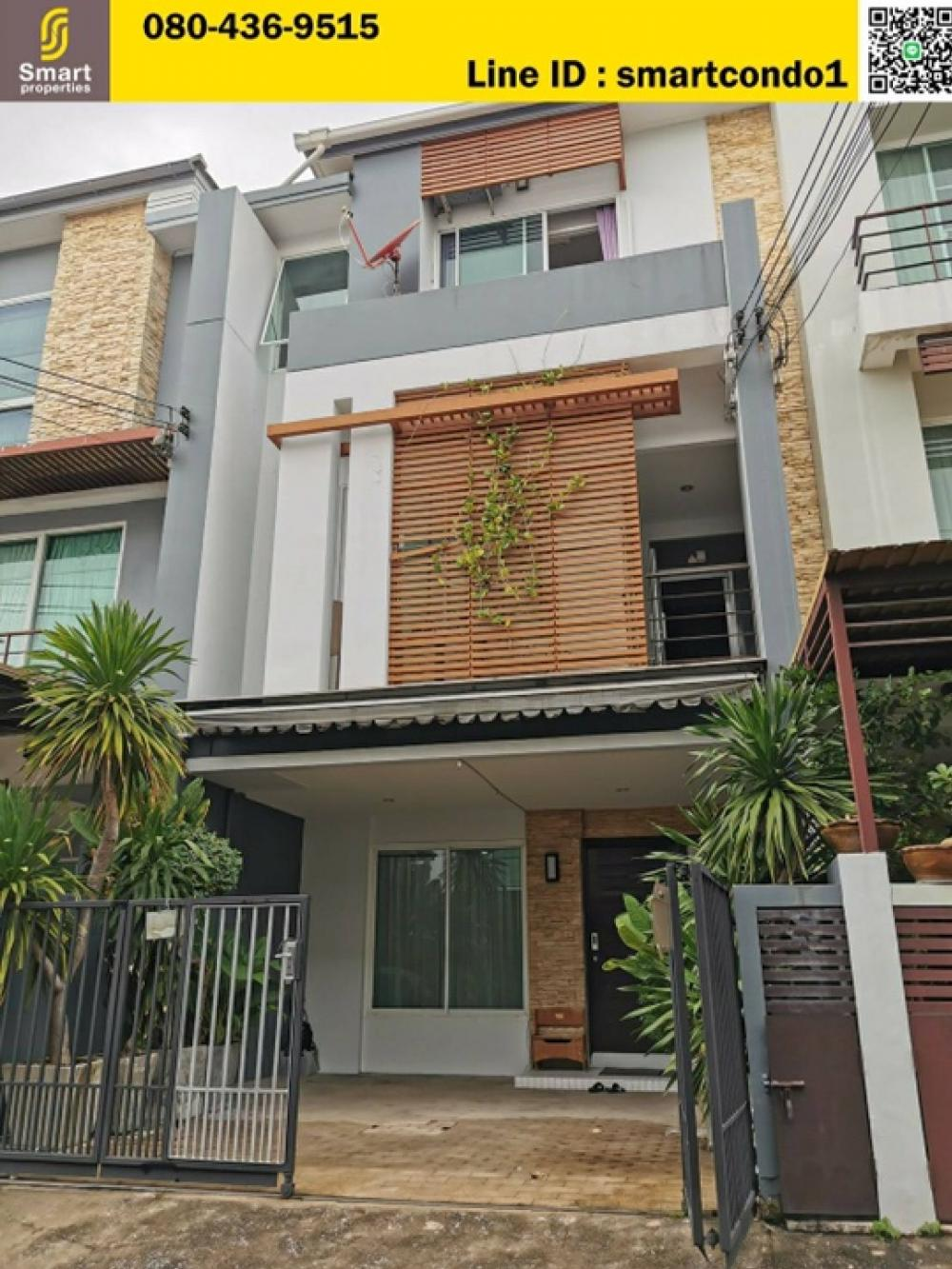 For SaleTownhouseRama3 (Riverside),Satupadit : Townhome for sale Thanapat House Soi Nonsi 20 (Thanapat Haus Sathorn - Narathiwas) area 27 sqw. 3 floors, 3 bedrooms, 4 bathrooms, add a kitchen back home. Fully furnished, ready to move in, can park 2 cars in the house, 1 car in front of the house, good