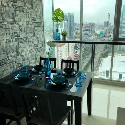 เช่าคอนโดรัชดา ห้วยขวาง : For Rent :  Life Ratchadapisek  2 bed  65 sq.m.  price: 32,000 บาทต่อเดือน