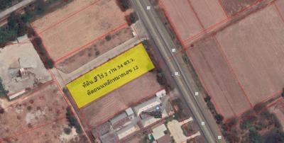 ขายที่ดินพิษณุโลก : ขายที่ดิน 3-2-54 ไร่ ((ไร่ละ 2,750,000 บาท)) ติดถนนใหญ่ ถูกมาก ห่างเซ็นทรัล พิษณุโลกเพียง 8 กม. ต.บ้านกร่าง อ.เมืองพิษณุโลก (LPHS01)