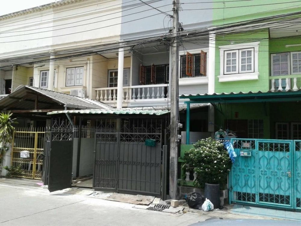 For RentTownhouseOnnut, Udomsuk : 2-storey townhouse for rent in Udom Suk area, Prakanong.