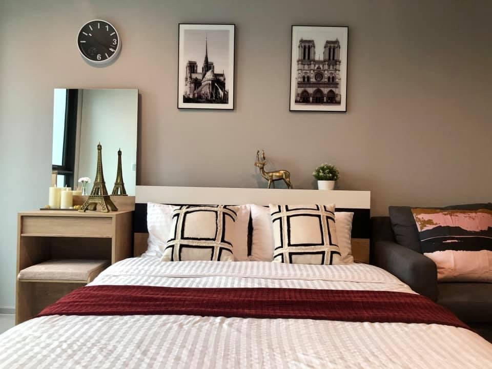 For RentCondoLadprao, Central Ladprao : +++ Urgent rent, beautiful room ++ Life Ladprao ** studio room 26.5 sq m, high floor, fully furnished, ready to move in