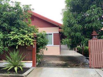 For RentHouseRamkhamhaeng,Min Buri, Romklao : Available 21/10/2020 for rent, Village Phanasin Garden Home 3, large house, area of 120 square meters.