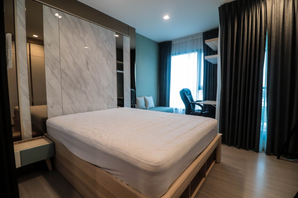 "For SaleCondoOnnut, Udomsuk : ""Super worth it !! Condo near BTS Bangchak Station Ready to move in immediately. Condo Life Sukhumvit 62 (Life Sukhumvit 62) room size 25 sq m, 1 bedroom, 1 bathroom, 7th floor with furniture. Electrical appliances The most special price !!!"