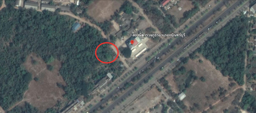 For SaleLandPrachin Buri : Land for sale in Kabinburi district