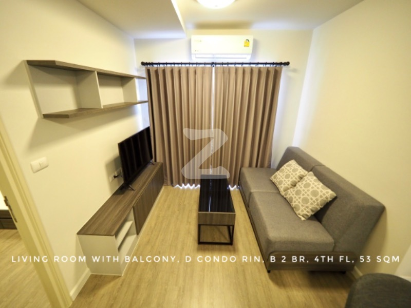 For RentCondoChiang Mai, Chiang Rai : For Rent Dcondo Rin Building B