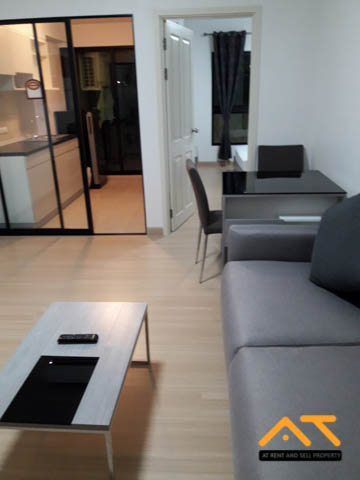 For RentCondoThaphra, Wutthakat : For rent: Supalai Loft Talat Phlu Station 1 bedroom, size 43 sq.m., beautiful room, fully furnished.