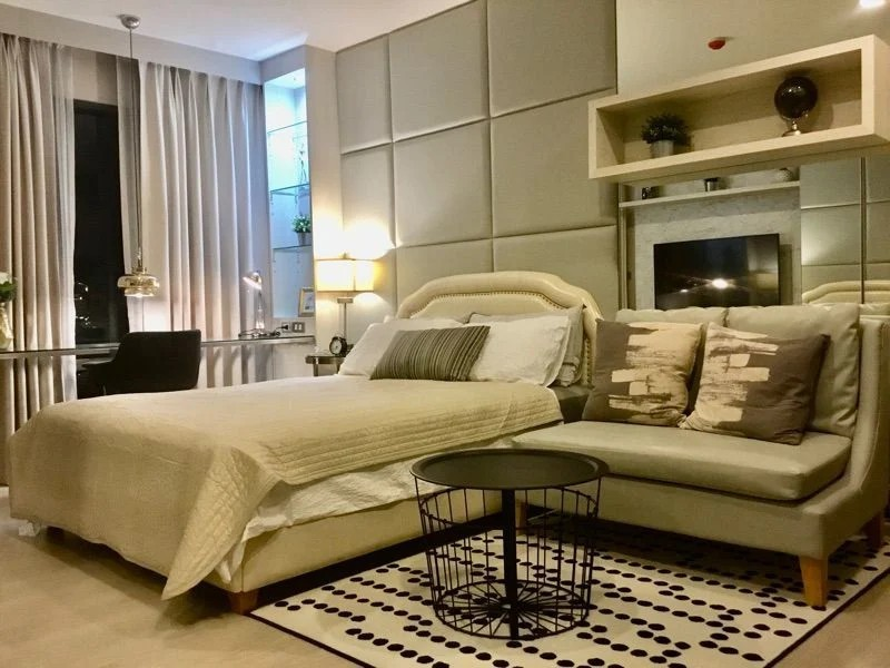 For RentCondoSukhumvit, Asoke, Thonglor : ✅ For rent: Rhythm Sukhumvit 36 - 38 near BTS, size 24 sq m, fully furnished and electric appliances ✅