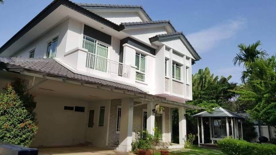 For RentHouseChiang Mai, Chiang Rai : House for rent, Siwalee Choeng Doi project, 3 bedrooms, 3 bathrooms