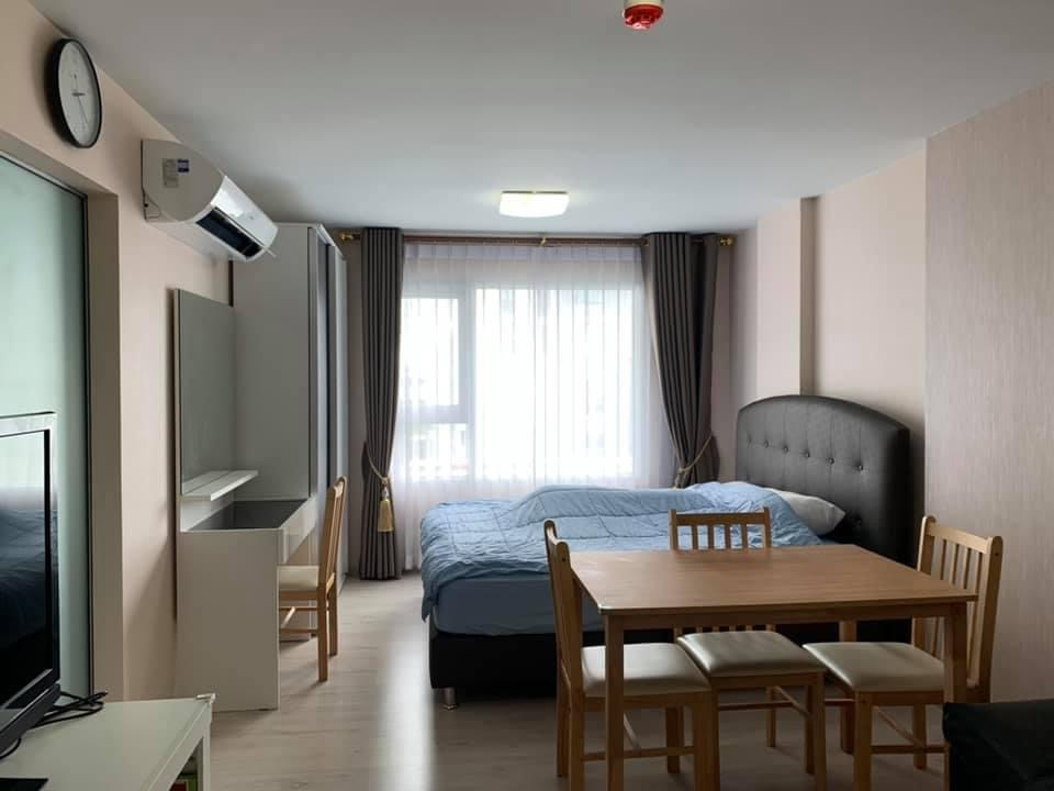 For RentCondoThaphra, Wutthakat : Beautiful room, fully furnished Customers book within this month Or ready to make a contract, reduce it to 9,000